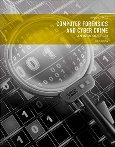 Computer Forensics and Cyber Crime: An Introduction (3rd Edition)