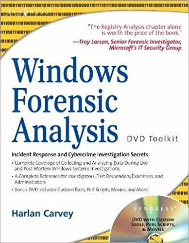 Windows Forensic Analysis Including DVD Toolkit